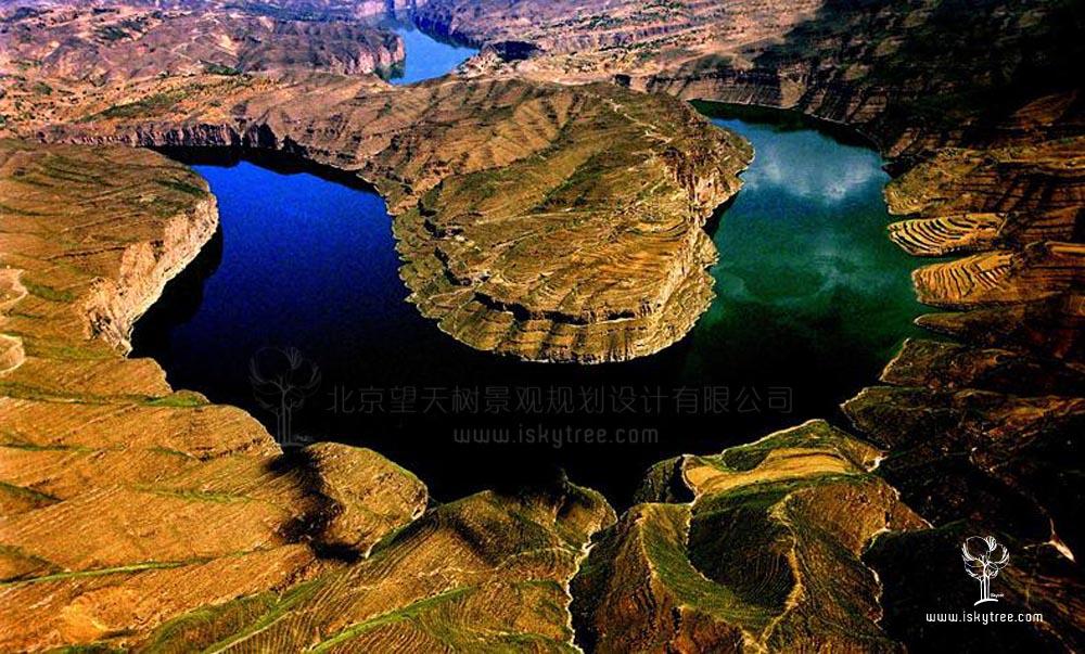 黄河峡谷包子塔景区