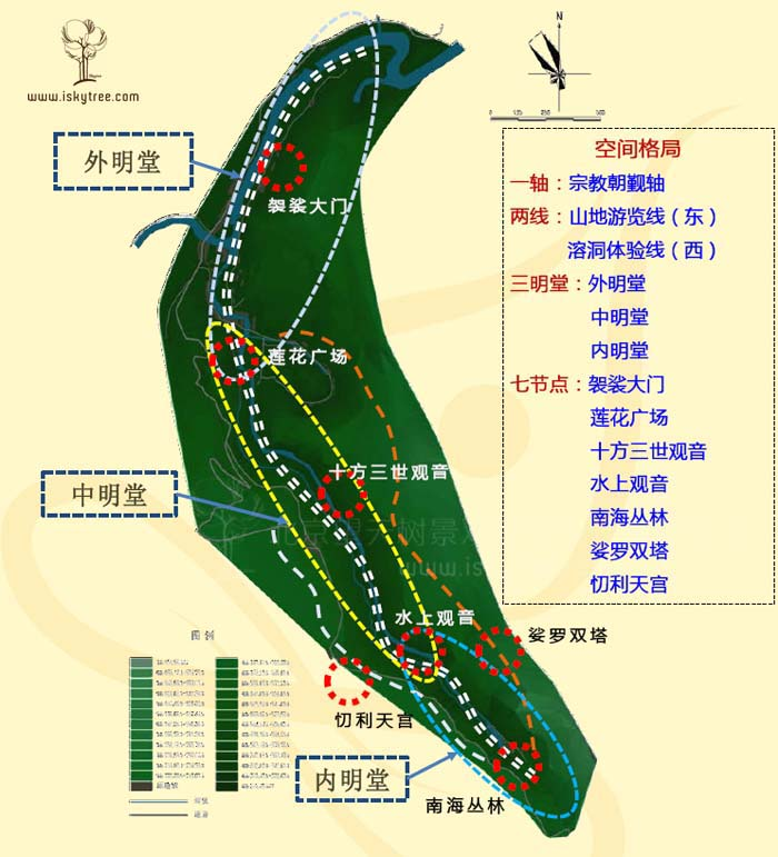 小南海宗教文化qy188千赢国际区规划图