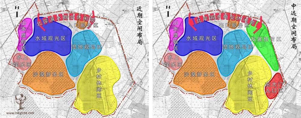 宁夏沙湖景区空间布局规划