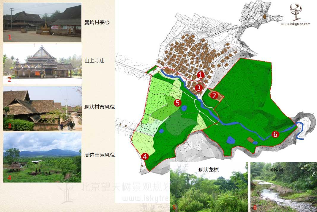 西双版纳勐腊曼旦景区资源现状