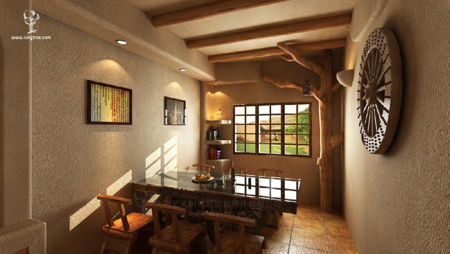 西部主题餐厅设计