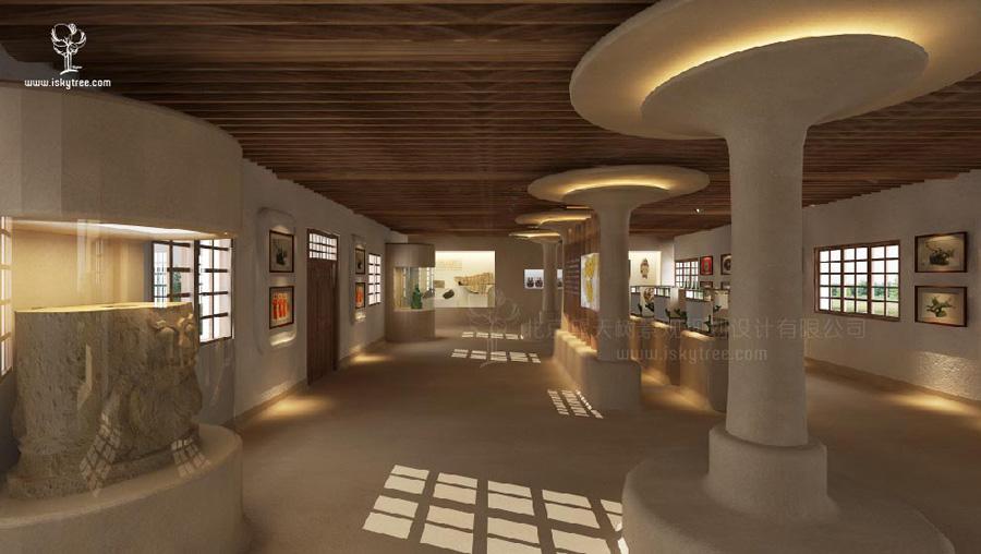 博物馆室内设计效果图