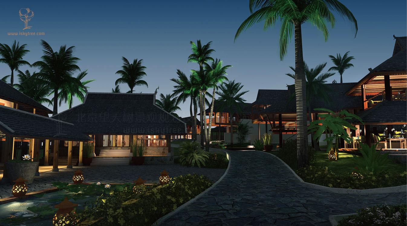 禅修精品酒店设计