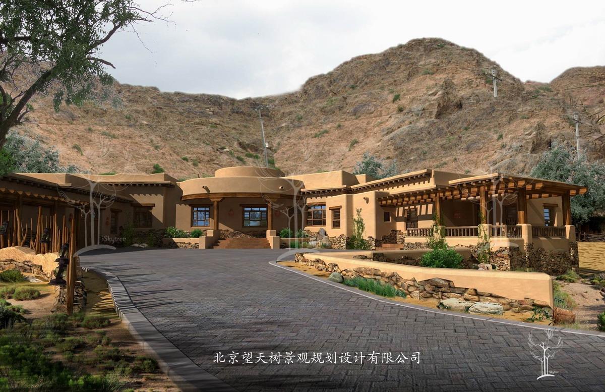 贺兰山精品会所酒店设计