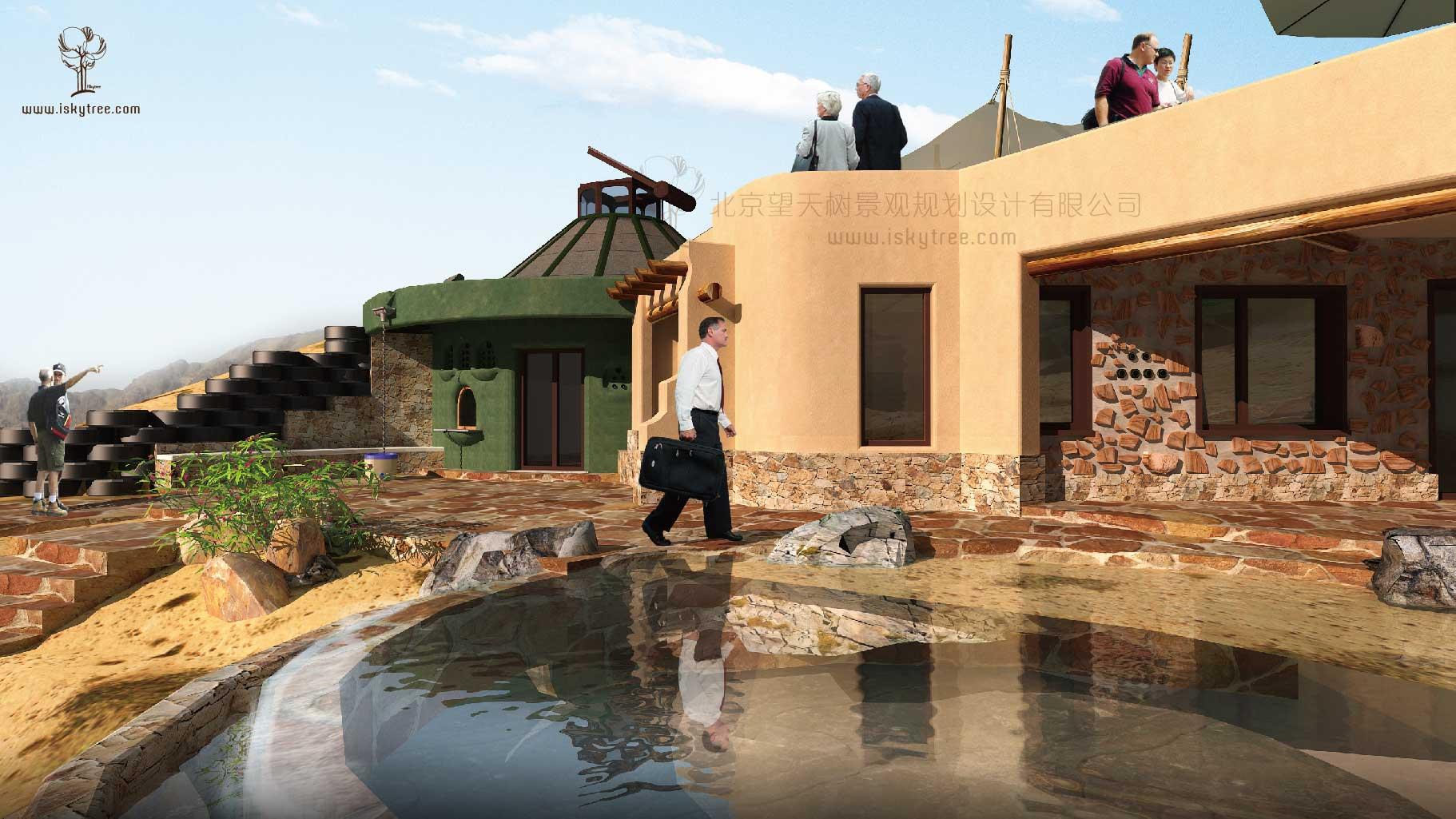 沙漠主题酒庄设计方案