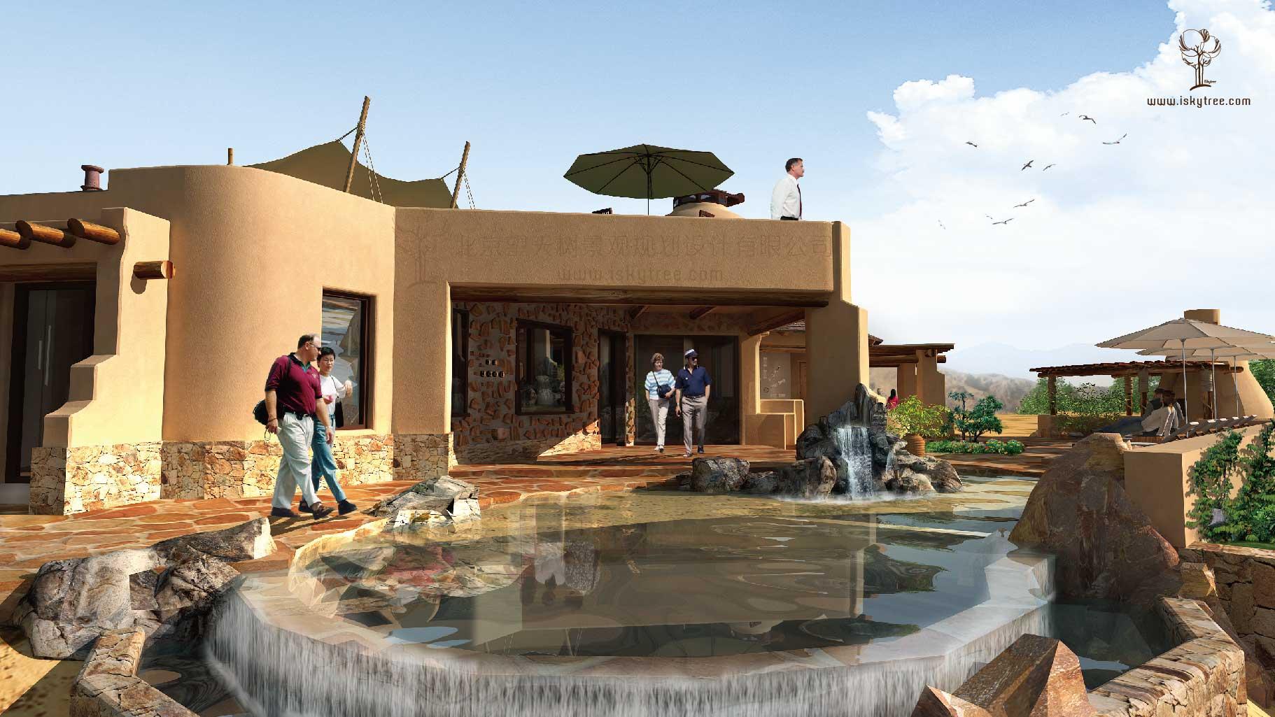沙漠风情酒庄设计方案