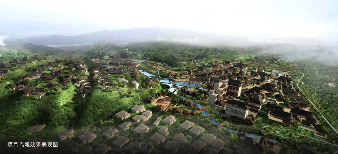 西双版纳热带雨林国家公园曼旦景区景观设计