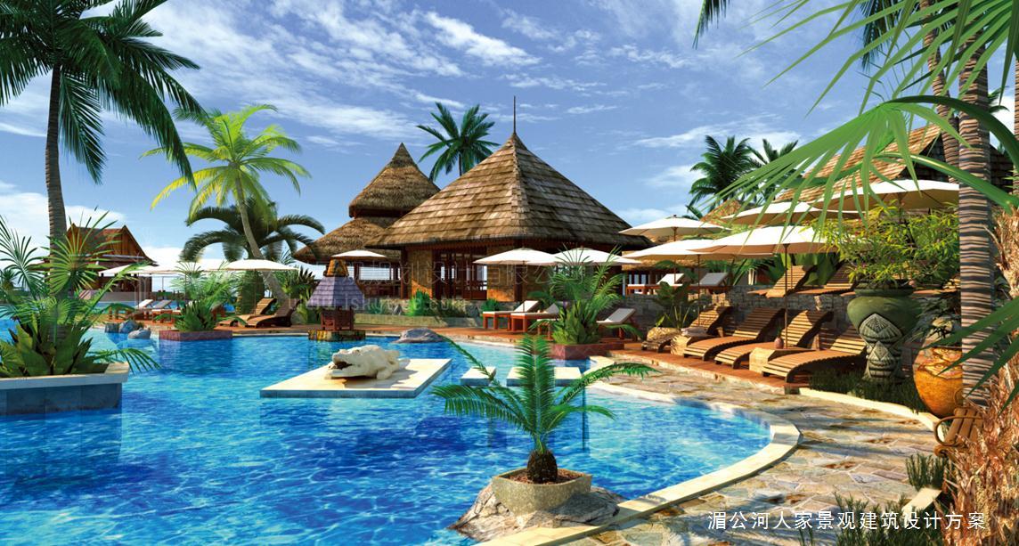 幻体验的热带与东南亚风情设计