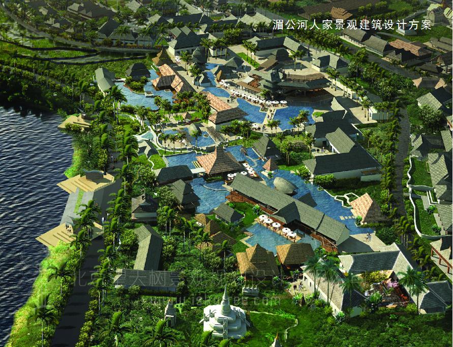 湄公河人家水寨设计