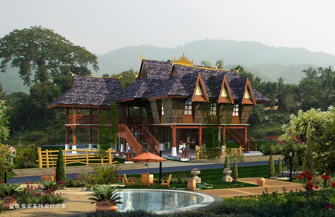 创造梦幻体验的热带与东南亚风情设计