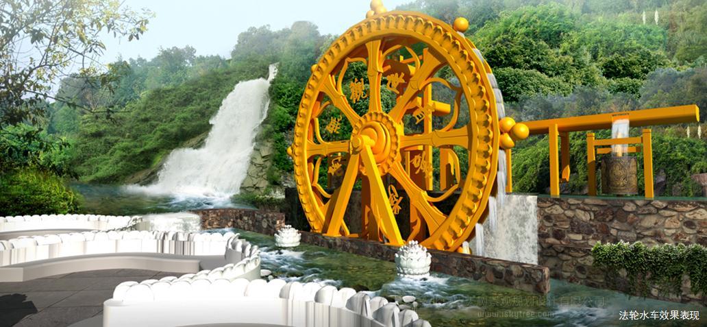 法轮水车设计