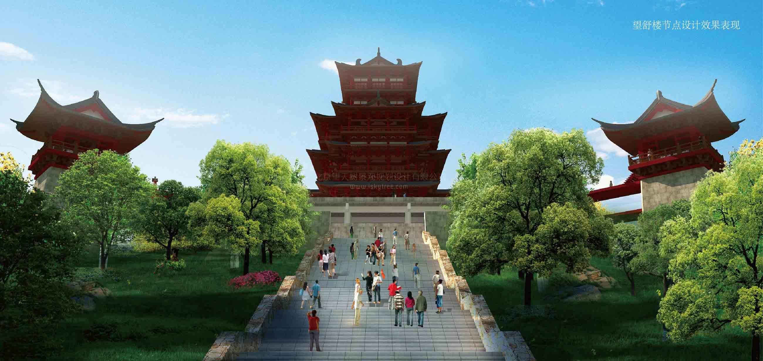 望舒楼(塔式)建筑景观设计