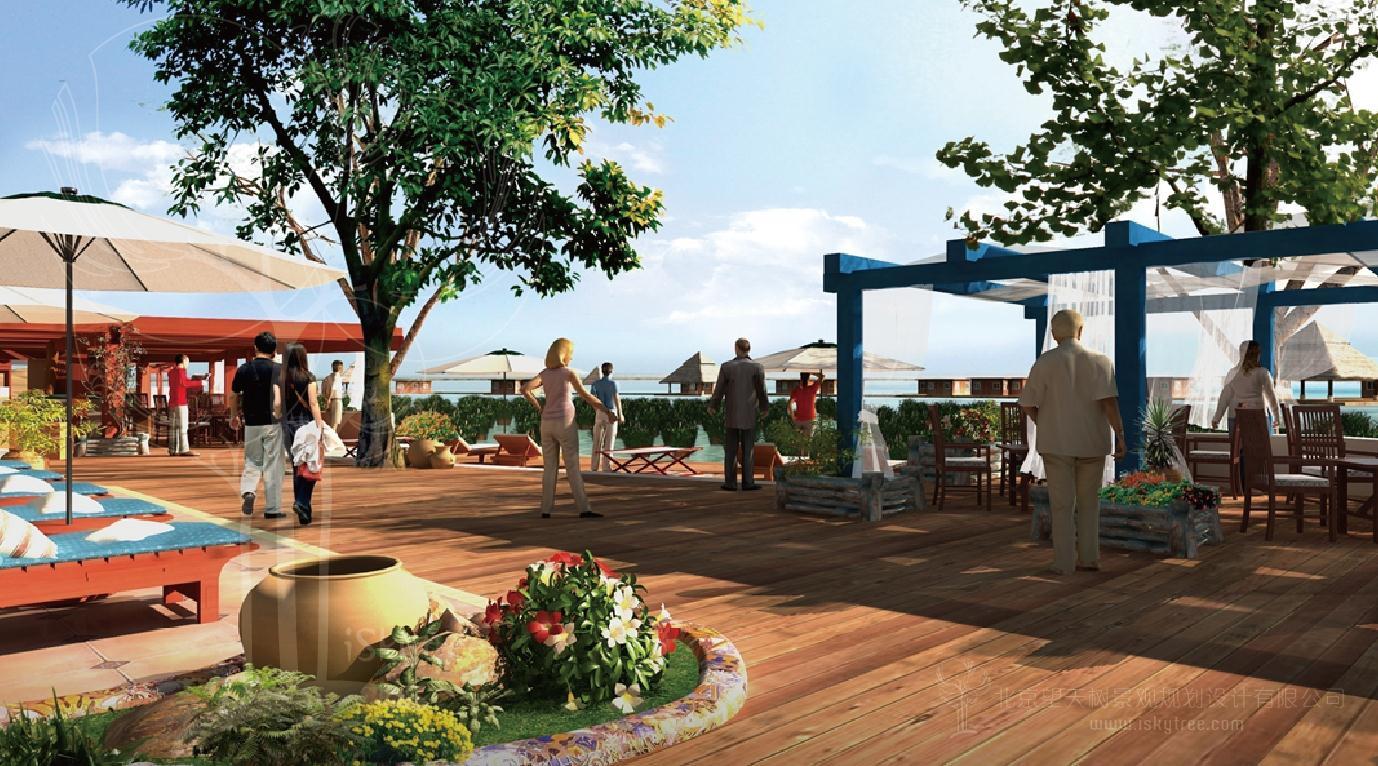 湖滨康体休闲区节点概念性设计