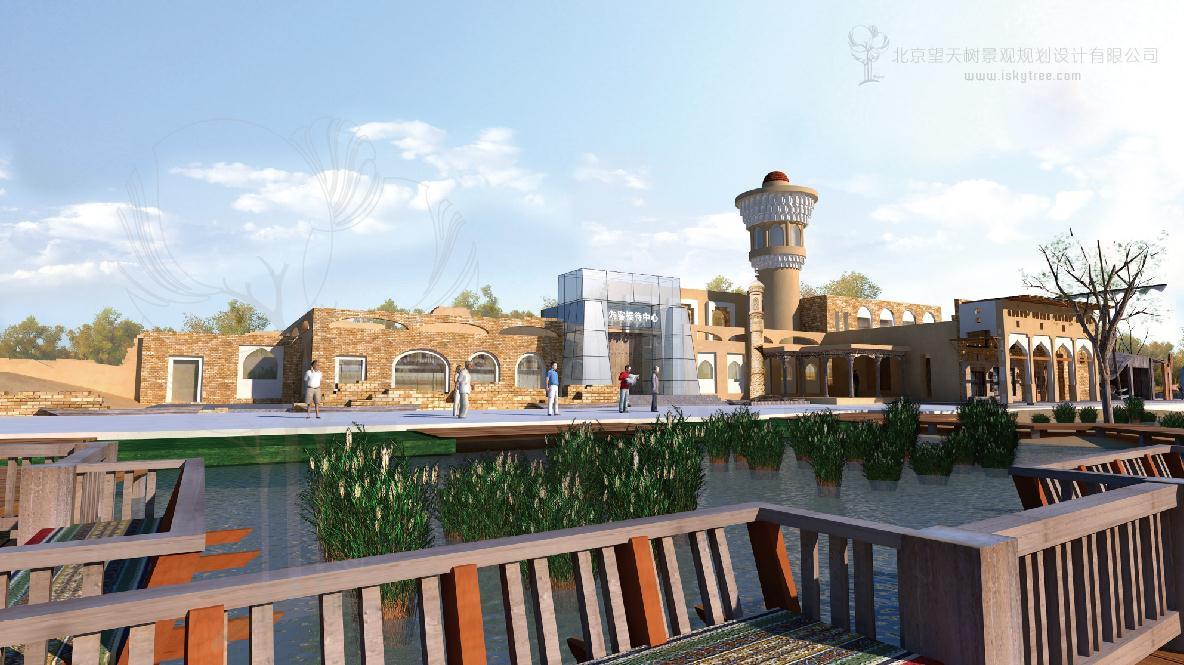 自驾车房车营地规划设计 高清图片