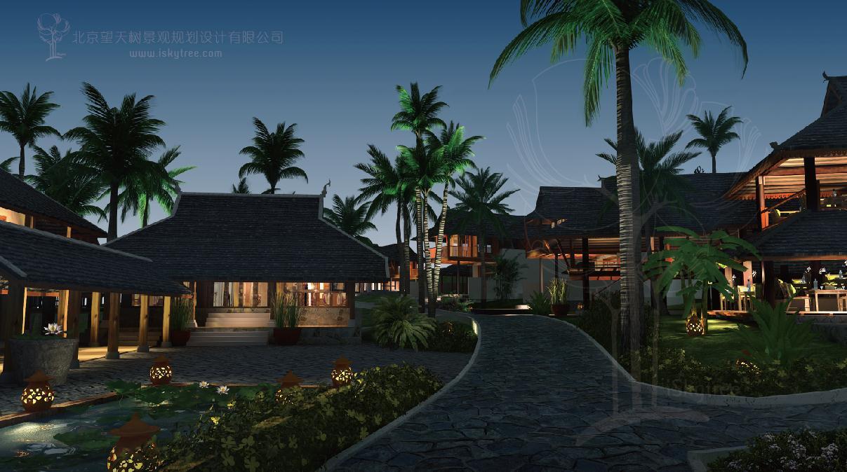 贝叶禅居建筑景观设计
