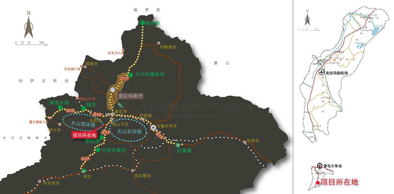 新疆自驾车营地区位