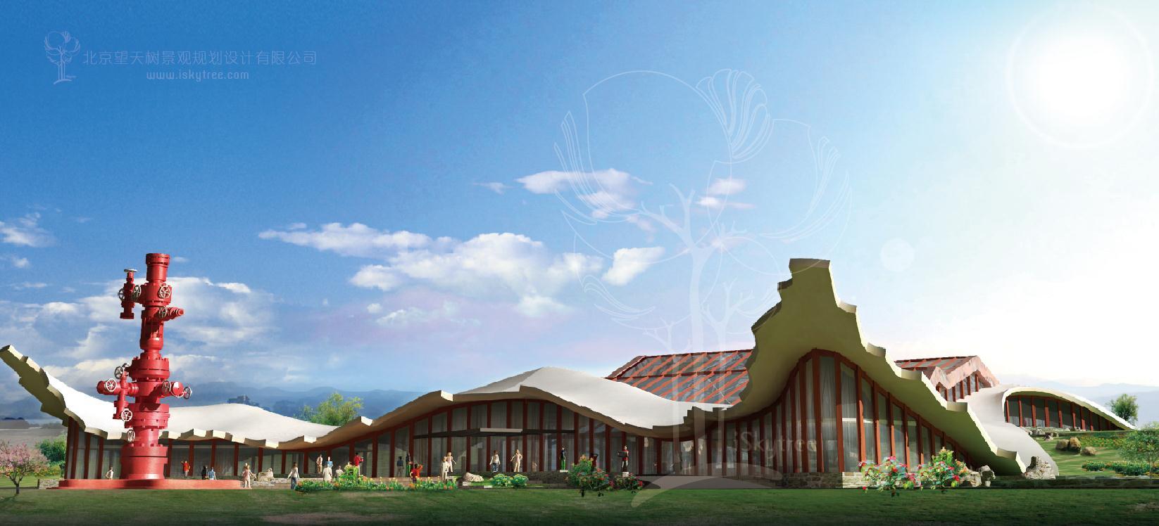 自驾车营地建筑景观设计方案