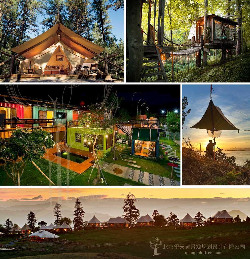 帐篷木屋营地非标准住宿fun乐天堂备用网址规划设计