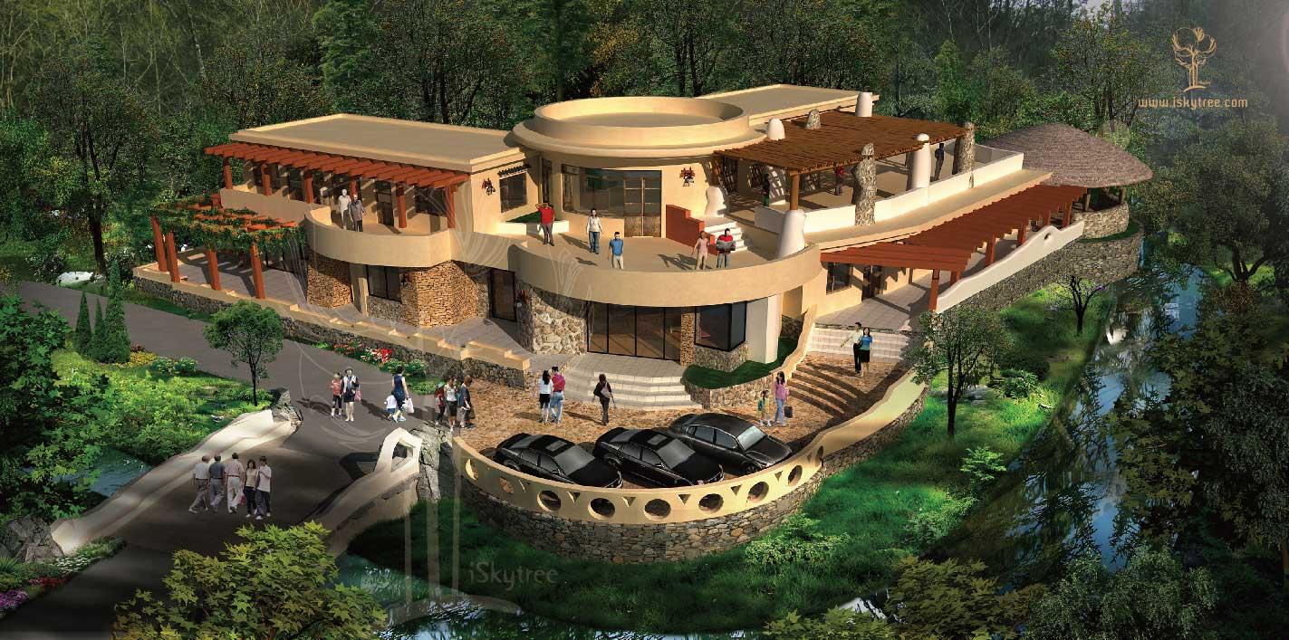 野外科学研究基地建筑景观设计