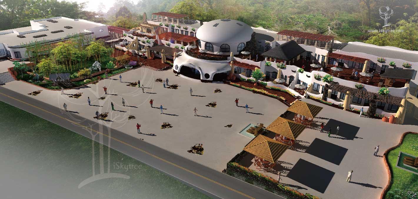 熊猫山庄主题酒店